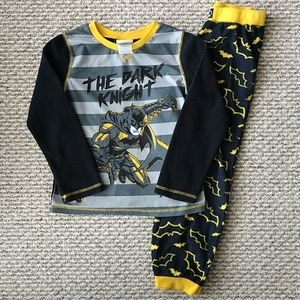 Boy's Batman Fleece Pajamas